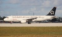 N688TA @ MIA - Taca Star Alliance A320