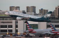 N709UW @ MIA - USAirways Philadelphia Eagles A319