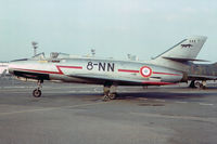 245 @ LFPB - Once a part of E.C. 2 based at Dijon AB, then sold to Israel. Formed part of 109 Sqn. at Ramat David AB. Returned to Armée de l'Air in Feb. 1962 in exchange for an Ouragan. - by Arjun Sarup