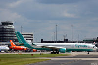 CS-TMT @ EGCC - Departure from the gate at Manchester - by Clive Pattle