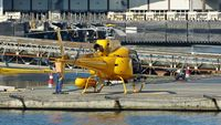 C-FTHY @ CBC7 - Just landed at Vancouver Harbour Heliport. - by M.L. Jacobs