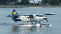C-FHAX @ CYHC - Harbour Air #313 taxiing for takeoff in Coal Harbour. - by M.L. Jacobs