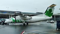 C-FGRP @ CYYZ - Air Canada Jazz Dash 8 just arrived. - by M.L. Jacobs