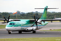 EI-FAW @ EGCC - Close up view of 'FAW - by Clive Pattle