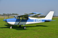G-AROA @ EGSM - Parked at Beccles.