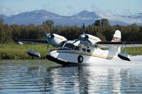 N199T @ LHD - Recent landing at Lake Hood, Anchorage, Alaska - by Mark Stadsklev
