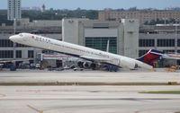 N933DN @ MIA - Delta MD-90