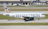 N941FR @ FLL - Frontier A319 Lobo the Gray Wolf