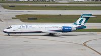 N966AT @ FLL - Air Tran 717