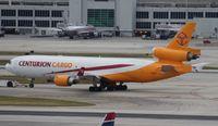 N987AR @ MIA - Centurion MD-11F
