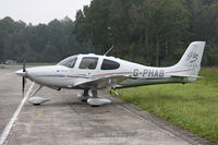 G-PHAB @ EBUL - Its grey colour almost looks like camouflage in this dull weather. - by Stefan De Sutter