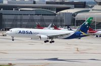 PR-ABD @ MIA - ABSA Cargo 767-300