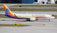 9Y-JMB @ FLL - Air Jamaica 737-800