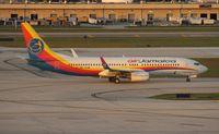 9Y-JMC @ FLL - Air Jamaica 737-800