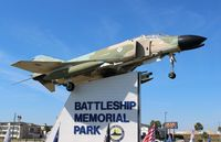 63-7487 - F-4C Phantom II at Battle Ship Alabama - by Florida Metal