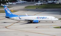 C-FTCZ @ FLL - Canjet 737-800 - by Florida Metal
