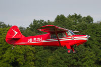 N1152H @ IA27 - On finals at Antique Airfield, Blakesburg - by alanh