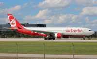 D-ALPJ @ MIA - Air Berlin A330-200