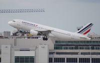 F-GKXG @ MIA - Air France A320