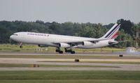 F-GLZP @ DTW - Air France A340-300
