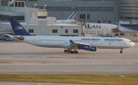 LV-BMT @ MIA - Aerolineas Argentinas A340-300