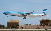 LV-CSE @ MIA - Aerolineas Argentinas A340-300