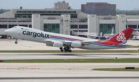 LX-VCG @ MIA - Cargolux 747-800