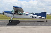N85AJ @ LAL - Cessna 185F