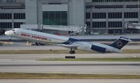 N120MN @ MIA - Haiti Aviation MD-83