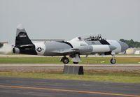 N134EM @ LAL - T-33 Black Diamond Jet Team
