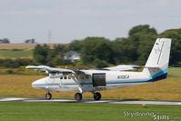 N10EA @ 8N2 - Departing Skydive Chicago - by Dave G