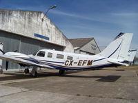 CX-EFM @ SUAA - uno de los pocos Seneca V en Uruguay, - by aeronaves CX