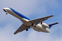 G-RJXH @ EGLL - Embraer ERJ-145EP [145442] (bmi Regional) Home~G 05/04/2010. On approach 27R.