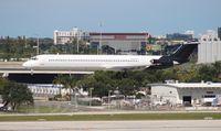 N305FA @ FLL - Falcon MD-83