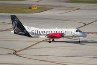 N351AG @ FLL - Silver Airways Saab 340