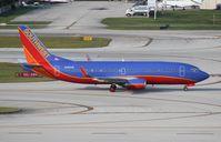 N386SW @ FLL - Southwest 737-300