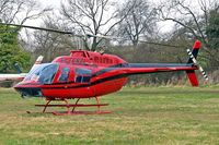 G-TGRZ @ EGBC - Bell 206B3 Jet Ranger III [2288] (Tiger Helicopters) Cheltenham Racecourse~G 13/03/2008