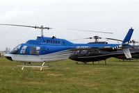 G-TOYZ @ EGBC - Bell 206B-3 Jet Ranger III [3949] Cheltenham Racecourse~G 14/03/2008