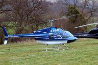 G-PSHR @ EGBC - Agusta-Bell AB.206B-3 Jet Ranger III [8690] Cheltenham Racecourse~G 13/03/2008