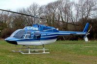 G-PSHR @ EGBC - Agusta-Bell AB.206B-3 Jet Ranger III [8690] Cheltenham Racecourse~G 14/03/2008