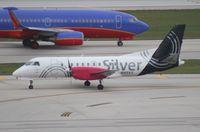 N412XJ @ FLL - Silver Airways Saab 340