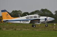 F-GOPR @ EGSV - Departing from Old Buckenham. - by Graham Reeve