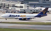 N492MC @ MIA - Atlas Air 747-400