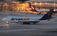 N497MC @ MIA - Atlas Air 747-400