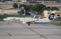 N526AS @ FLL - Alaska 737-900