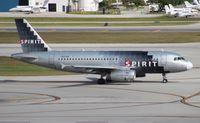 N529NK @ FLL - Spirit A319
