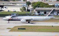 N587NK @ FLL - Spirit A321