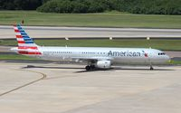 N580UW @ TPA - American Airlines A321