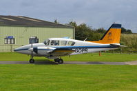 F-GOPR @ EGSV - About to depart. - by Graham Reeve