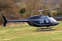 G-WIZZ @ EGBC - Agusta-Bell AB.206B Jet Ranger II [8540] Cheltenham Racecourse~G 13/03/2008